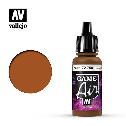 Vallejo Game Air - Brassy Brass 72.758