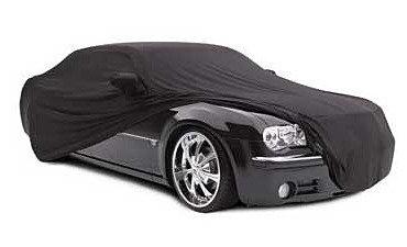 Custom Satin Stretch Indoor Cover 2 Layers, 4-Door Car