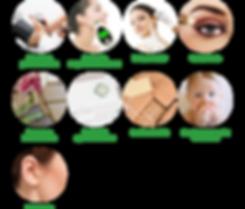 Misurazione pressione, foratura orecchie, trucco, servizio cup, prenotazione visite, educatrice, ostetrica, udito