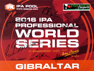 From IPA in Gibraltar to EBA in Bridlington - a month of pool