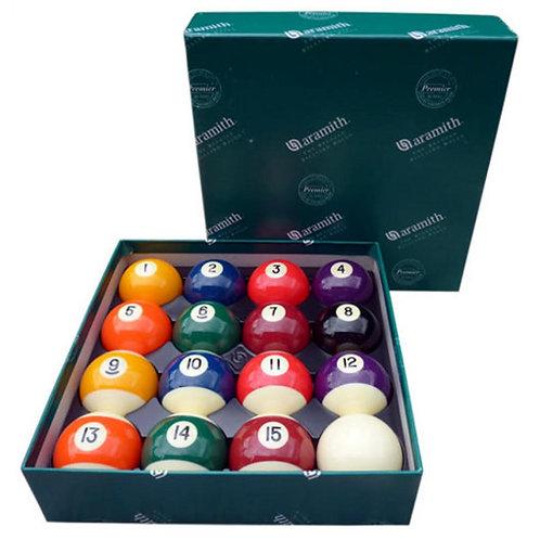 "2 1/4""Aramith Premier Engraved Pool Balls"
