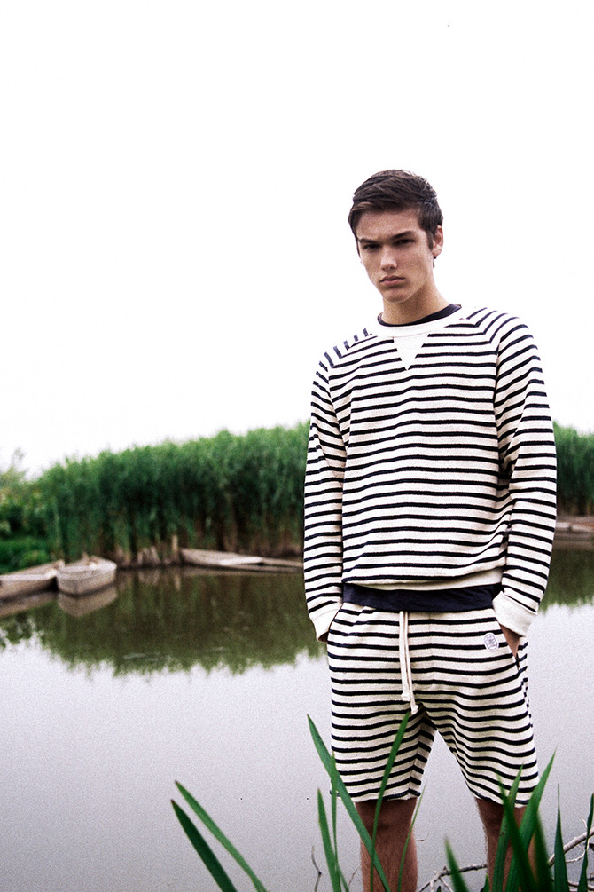 The TROIA crewneck, our Breton version