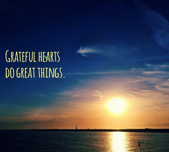 Gratefulness Practiced Daily Leads to A Life Full of Greatness