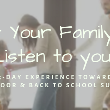 Complimentary Experience~ Get Your Family to Listen: The 5-Day Experience Toward Out the Door & Back 2 School Success