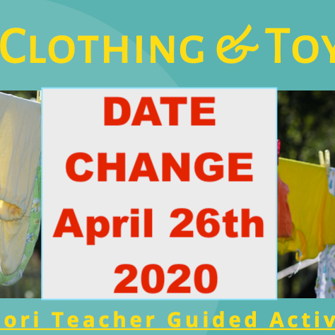 Spring Clothing & Toy Swap with The Eco Conscious Parenting Community