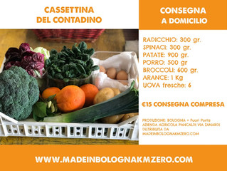I giusti ingredienti di Made in Bologna Km Zero: confort e fantasia!