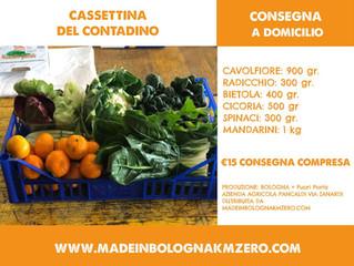Neve?! Freddo?! Riscaldati con i prodotti di Made in Bologna Km Zero!