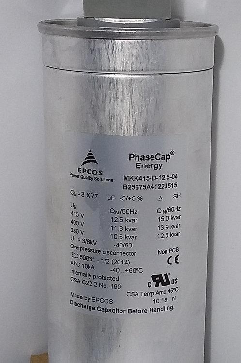 12.5KVAr/ 480V 50Hz Power factor correction capacitor