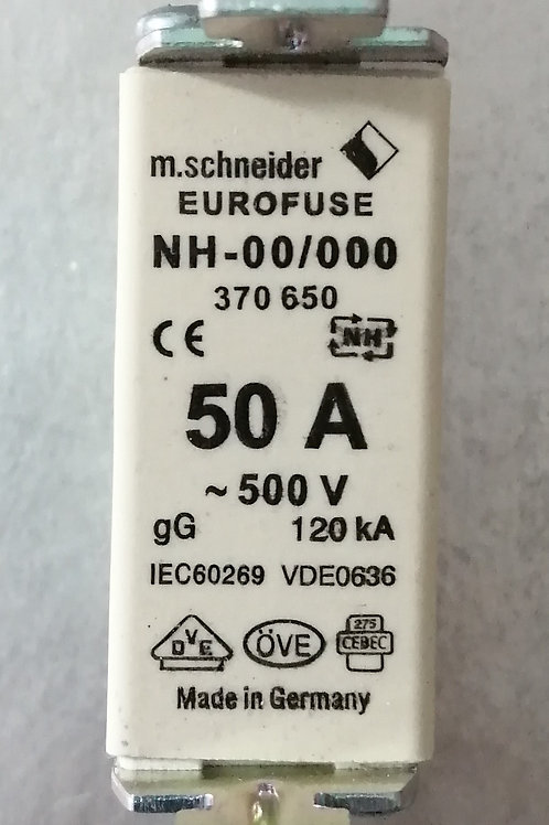 50A 500V NH00/000 Fuse