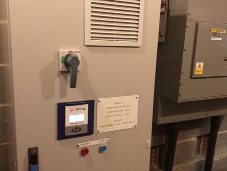 West Yorkshire 100 KVAR Power factor correction unit installation