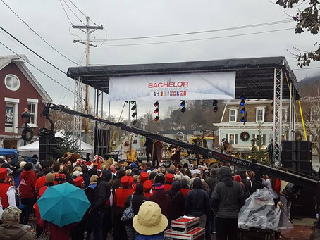 'The Bachelor' Winter Games Films in Vermont (behind the scenes pics)