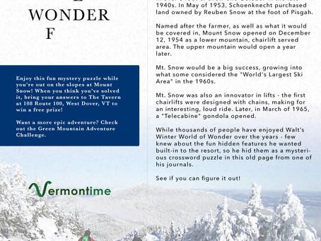 Winter Adventure Challenge!
