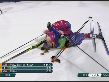 Stratton Skier Wins Historic Olympic Gold
