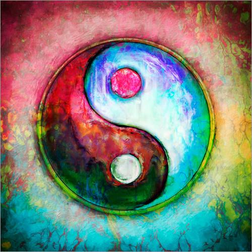 Ying yang, tao, équilibre, la vie