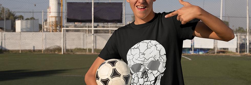 Skull gym t shirt
