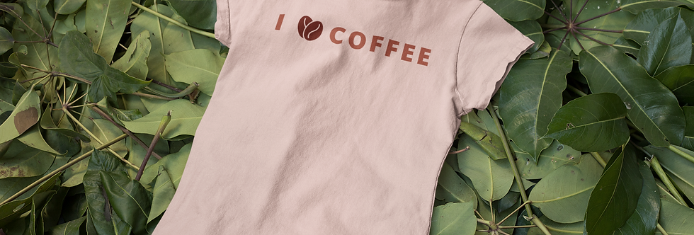 l love coffee t-shirt for men
