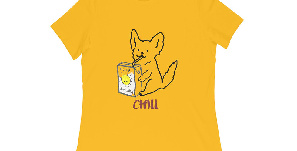 chill t shirt for women