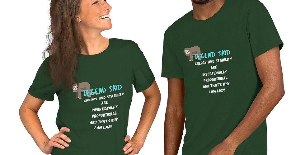 legend said funny t-shirt- favourtees