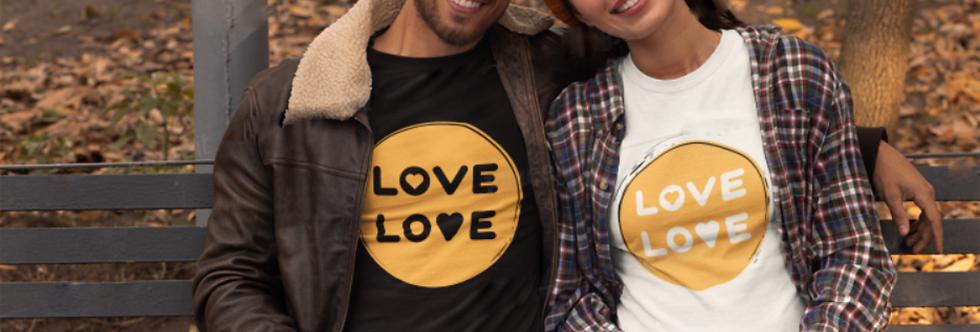 love love couple t-shirt