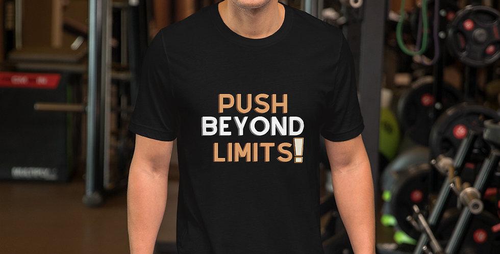 push beyond limits t shirt- favourtees