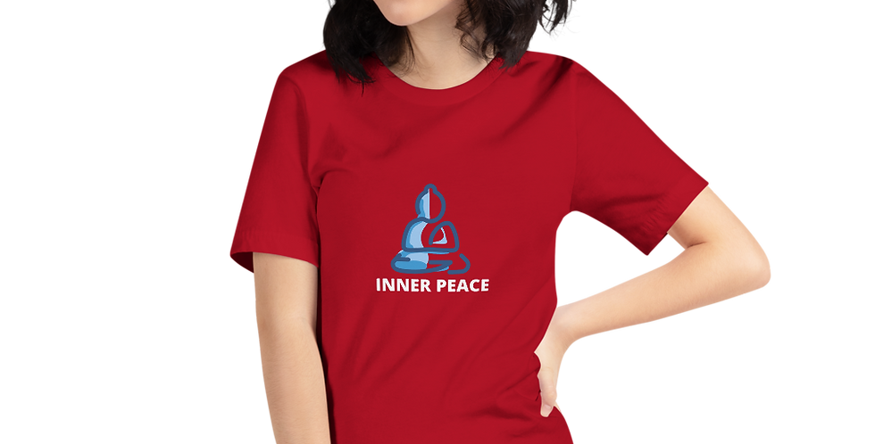 inner peace printed women t shirt
