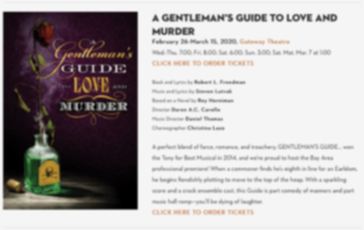 A Gentleman's Guide to Love & Murder