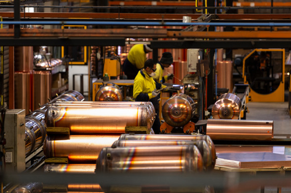 Manufacturing Hot water cylinders 6