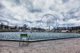 Paris Eye in Winter