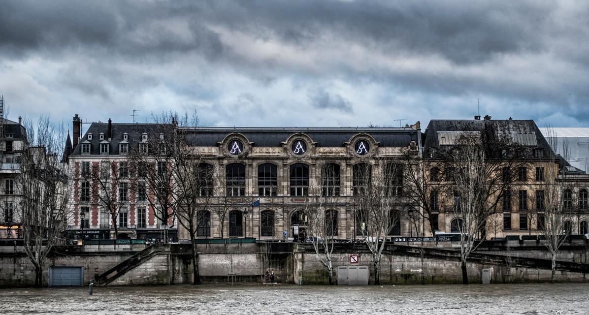 Sienne in flood Paris 2