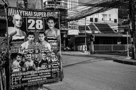 Fight Poster Phuket Thailand