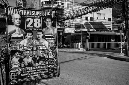 Fight Poster Phuket Thailand