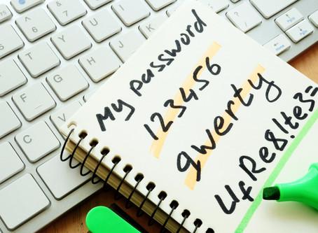 13: Employ password management best practices