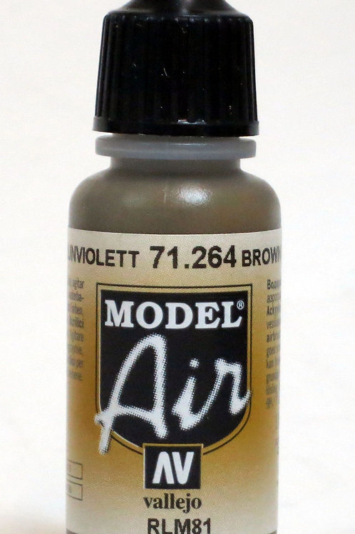 Vallejo Model Air Brown Violet RLM81