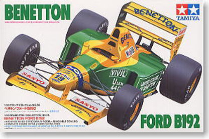 Benetton Ford B192 + Extras