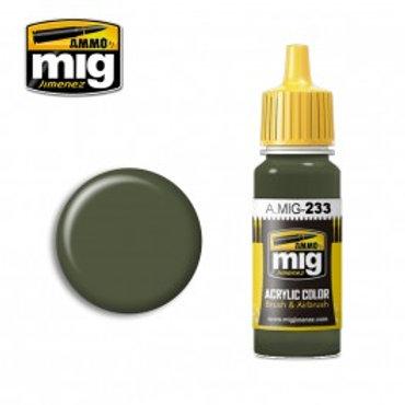 Ammo Acrylic Color Dunkelgrun RLM 71