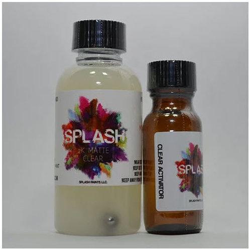 Splash Paints - 2K Flat Clear Set