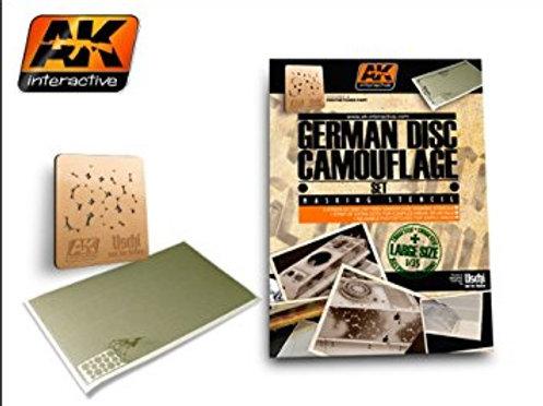 German Disc Camouflage Set