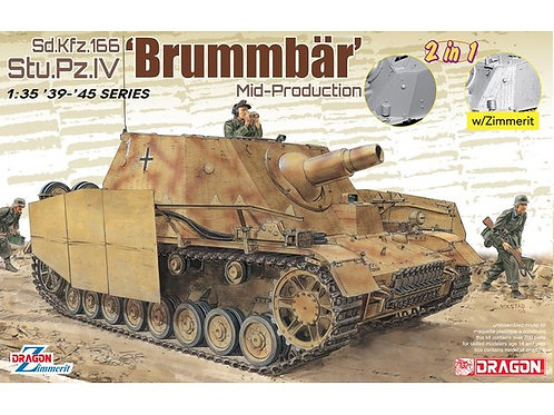sd.Kfz.166 Stu. Pz.IV Brummbar Mid Production