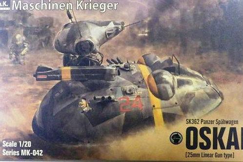 SK362 Panzer Spahwagen Oskar 25mm Linear Gun type