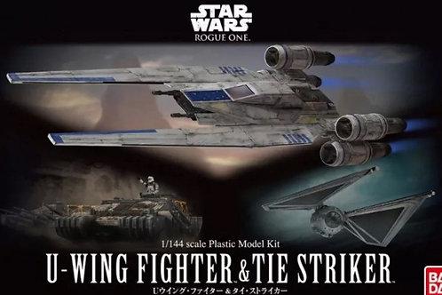 U-Wing Fighter & Tie Striker (Rogue One)