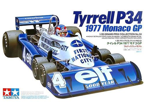 Tyrrell P34 6 Wheler 1977 Monaco