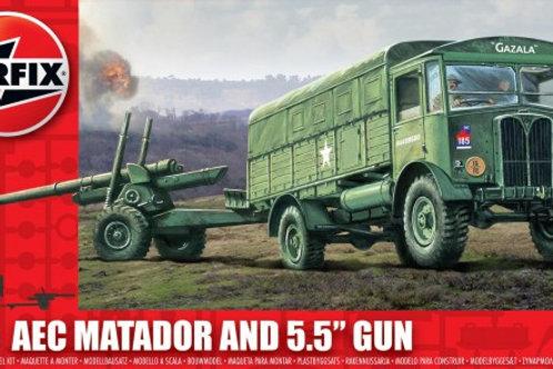 """AEC Matador and 5.5"""" Gun"""