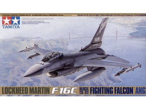 F-16C Block25/32 Air National Guard