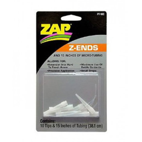 Z Ends for ZAP glues