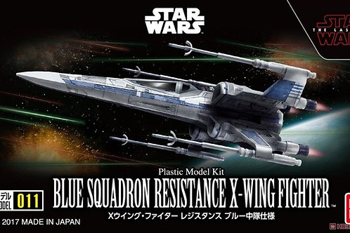 Blue Squadron Resistance X-Wing Fighter