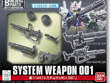 Gunpla Builders Parts - System Weapon 001