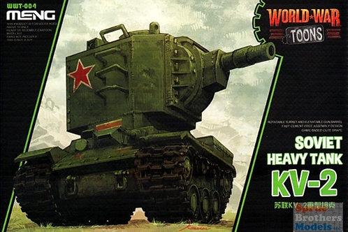 KV-2 Soviet Heavy Tank (World War Toons)