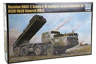 Russian 9A52-2 Smerch-M RSZ0 9k58 Smerch MRLS