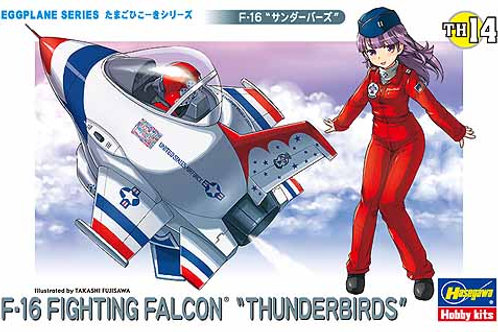 F-16 Fighting Falcon 'Thunderbirds' Eggplane