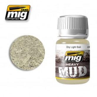 Heavy Mud - Dry Light Soil